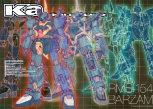 Rating: Safe Score: 3 Tags: crease gundam gundam_sentinel katoki_hajime mecha zeta_gundam User: Rid