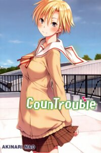 Rating: Safe Score: 13 Tags: countrouble nao_akinari seifuku sweater User: Radioactive