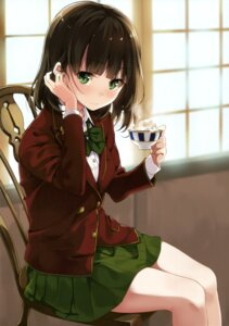 Rating: Safe Score: 94 Tags: seifuku shinkai_kissa unasaka User: Twinsenzw