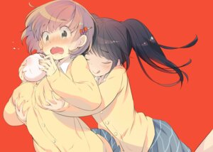 Rating: Questionable Score: 44 Tags: breast_grab gin_(oyoyo) seifuku sweater yuri User: nphuongsun93