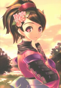 Rating: Questionable Score: 15 Tags: amaduyu_tatsuki armor blazer_one momohime_(muramasa) oboro_muramasa possible_duplicate sword User: Radioactive