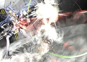 Rating: Safe Score: 23 Tags: giba gun kos-mos pantsu stockings thighhighs underboob xenosaga User: Radioactive