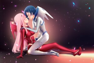 Rating: Safe Score: 14 Tags: bodysuit cloudxmoe darling_in_the_franxx horns ichigo_(darling_in_the_franxx) yuri zero_two_(darling_in_the_franxx) User: Spidey