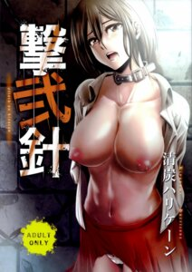 Rating: Questionable Score: 47 Tags: bondage breasts mikasa_ackerman nipples no_bra open_shirt pantsu shingeki_no_kyojin tagme torn_clothes User: back07