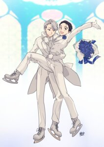 Rating: Safe Score: 7 Tags: katsuki_yuuri male mouri victor_nikiforov yaoi yuri!!!_on_ice User: charunetra