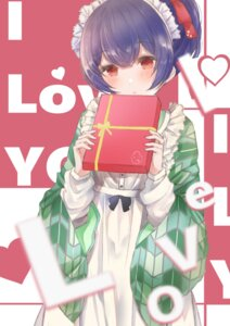 Rating: Safe Score: 12 Tags: maid morino_rinze namamake the_idolm@ster the_idolm@ster_shiny_colors valentine wa_maid User: charunetra