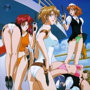 Rating: Questionable Score: 22 Tags: agent_aika aida_rion alexymetalia_maypia ass bikini disc_cover pantsu sumeragi_aika swimsuits yamauchi_noriyasu User: blooregardo