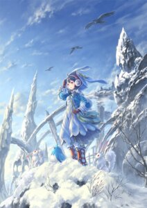 Rating: Safe Score: 46 Tags: dress hisakata_souji landscape User: mula3