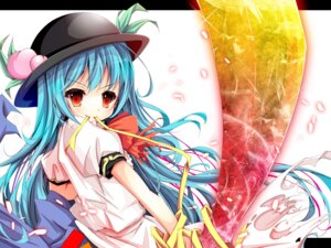 Rating: Safe Score: 24 Tags: hinanawi_tenshi nanamomo_rio sword touhou User: Radioactive