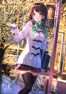 Rating: Safe Score: 69 Tags: christmas seifuku sweater swordsouls thighhighs User: SubaruSumeragi