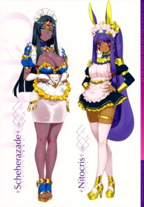 Rating: Safe Score: 37 Tags: animal_ears cleavage fate/grand_order heels maid nitocris_(fate/grand_order) orange_maru scheherazade_(fate/grand_order) tagme tattoo yang-do User: Saturn_V