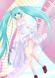 Rating: Safe Score: 15 Tags: dress hatsune_miku muso_hu_ni vocaloid User: pleasuredive
