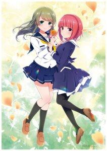 Rating: Safe Score: 17 Tags: aikawa_aika alice_gear_aegis battle_girl_high_school tokiwa_kurumi User: Halcon_Negro