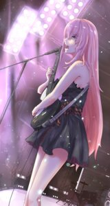 Rating: Safe Score: 39 Tags: dress guitar megurine_luka summer_dress suppakarn_prakobkij_(soompook2122) vocaloid User: mattiasc02