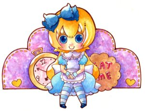 Rating: Safe Score: 5 Tags: alice alice_in_wonderland dress mojata User: charunetra