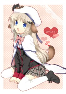 Rating: Safe Score: 40 Tags: animal_ears hanabana_tsubomi inumimi little_busters! noumi_kudryavka tail thighhighs User: Manabi