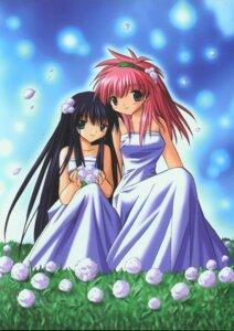 Rating: Safe Score: 5 Tags: dress galaxy_angel kanan karasuma_chitose milfeulle_sakuraba User: Radioactive