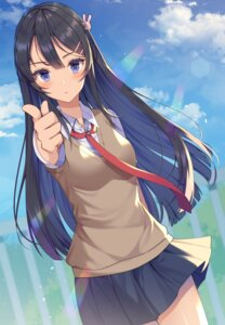 Rating: Safe Score: 46 Tags: izumo_neru sakurajima_mai seifuku seishun_buta_yarou_series sweater User: Mr_GT