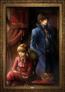 Rating: Safe Score: 6 Tags: ekusa_takahito umineko_no_naku_koro_ni ushiromiya_lion willard_h_wright User: Velen