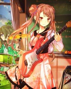 Rating: Safe Score: 27 Tags: dress guitar school_fanfare User: saemonnokami