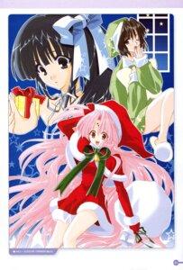 Rating: Safe Score: 5 Tags: christmas girls_bravo hare_nanaka_koyomi kojima_kirie mario_kaneda miharu_sena_kanaka User: Radioactive