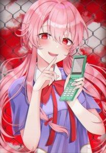 Rating: Safe Score: 29 Tags: 49_(yonkyuu) gasai_yuno mirai_nikki seifuku User: Mr_GT