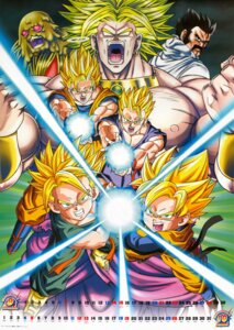 Rating: Safe Score: 10 Tags: broly calendar dragon_ball dragon_ball_z male mr._satan son_gohan son_goku son_goten trunks User: Komori_kiri