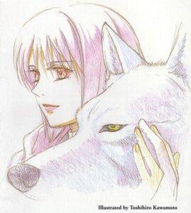 Rating: Safe Score: 3 Tags: cheza kawamoto_toshihiro kiba_(wolf's_rain) wolf's_rain User: Radioactive