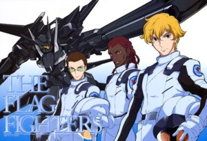Rating: Safe Score: 11 Tags: arisawa_hiroshi daryl_dodge graham_aker gundam gundam_00 howard_mason male mecha User: Radioactive