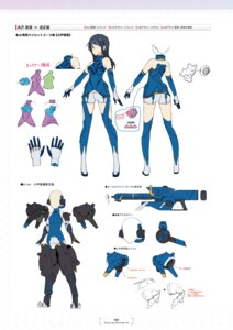 Rating: Questionable Score: 4 Tags: alice_gear_aegis bodysuit character_design koashi_mutsumi tagme thighhighs weapon User: Radioactive