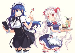 Rating: Safe Score: 46 Tags: arin garter h2so4 kooh lolita_fashion pangya stockings thighhighs waitress User: hammer
