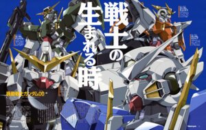 Rating: Safe Score: 5 Tags: gundam gundam_00 mecha nishii_masanori User: Radioactive