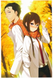 Rating: Safe Score: 19 Tags: makise_kurisu nanimoshinai okabe_rintarou sasamori_tomoe steins;gate User: mash