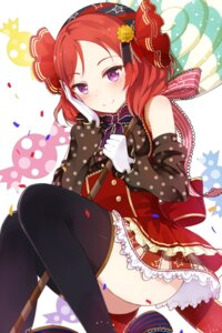 Rating: Questionable Score: 53 Tags: dress love_live! mr._rabit nishikino_maki nopan thighhighs User: blooregardo