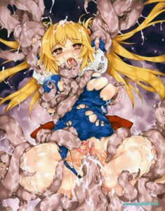 Rating: Explicit Score: 44 Tags: aburidashi_zakuro breasts censored extreme_content nipples pussy sex tentacles torn_clothes User: 抗p