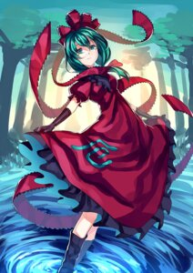 Rating: Safe Score: 21 Tags: dress kagiyama_hina skirt_lift touhou uu_uu_zan User: charunetra