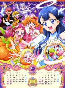 Rating: Questionable Score: 7 Tags: aisaki_emiru angel animal_ears bandages calendar halloween hariham_harry hug-tan hugtto!_precure kagayaki_homare nono_hana ruru_amour wings yakushiji_saaya User: drop