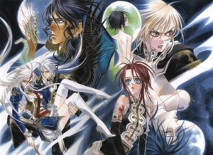 Rating: Questionable Score: 3 Tags: dress naked thighhighs thores_shibamoto trinity_blood User: Radioactive