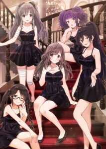 Rating: Safe Score: 14 Tags: bandages cleavage dress heels jpeg_artifacts megane sonsoso the_idolm@ster User: hiroimo2