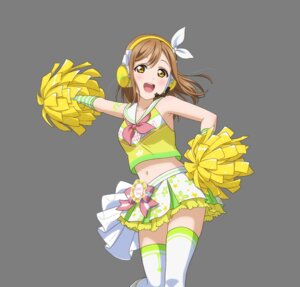 Rating: Safe Score: 16 Tags: cheerleader headphones kunikida_hanamaru love_live!_sunshine!! tagme tattoo thighhighs transparent_png User: saemonnokami