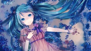 Rating: Safe Score: 65 Tags: dress hatsune_miku makishimu vocaloid wallpaper User: DarkOuranos