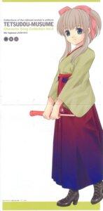 Rating: Safe Score: 8 Tags: crease kitahara_sora tetsudou_musume yagisawa_mai User: Komori_kiri