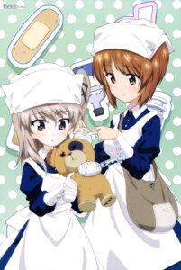 Rating: Safe Score: 23 Tags: bandages girls_und_panzer nishizumi_miho nurse shimada_arisu yoshida_nobuyoshi User: drop