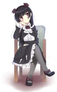 Rating: Safe Score: 34 Tags: dress gokou_ruri gothic_lolita lolita_fashion masamuu ore_no_imouto_ga_konnani_kawaii_wake_ga_nai pantyhose User: Manabi