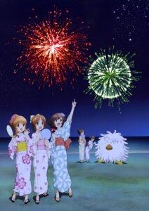 Rating: Safe Score: 14 Tags: akiyama_yukari girls_und_panzer isuzu_hana nishizumi_miho reizei_mako takebe_saori yukata User: drop
