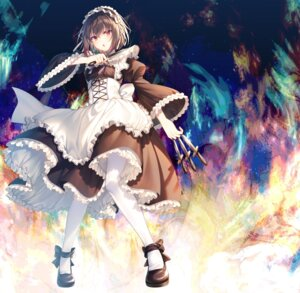 Rating: Safe Score: 23 Tags: maid seiken_gakuin_no_maken_tsukai skirt_lift toosaka_asagi weapon User: john.doe