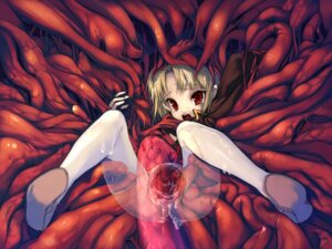 Rating: Explicit Score: 28 Tags: censored extreme_content hitomaru pussy shrine tentacles wallpaper User: fireattack