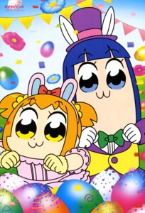 Rating: Safe Score: 10 Tags: animal_ears bunny_ears pipimi pop_team_epic popuko umeki_aoi User: drop