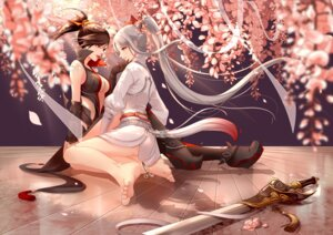 Rating: Safe Score: 52 Tags: cleavage clouble feet heels no_bra sword tagme tianxia yuri User: nphuongsun93