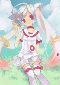 Rating: Safe Score: 25 Tags: acidear animal_ears anthropomorphization kyubey puella_magi_madoka_magica thighhighs User: itsu-chan
